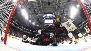 Sports - Bruins Commanding Lead Over The Hurricanes