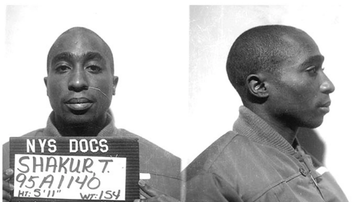 Qui West - Man Claims Tupac Is Alive And Living In LA Prison, Matches Jail Records!
