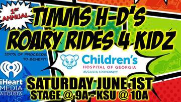 None - Timms H-D's Roary Rides 4 Kidz!