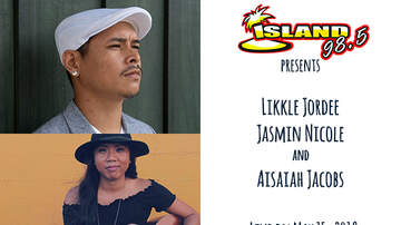 Hawaiian Financial Music Hall - Likkle Jordee, Jasmin Nicole & Aisaiah Jacobs