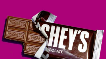 Jay & Amy - Hershey's Candy Bar Has A New Look After 125 Years!!!
