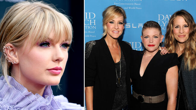 Taylor Swift Credits Dixie Chicks Trio For Helping Her 'Think Bigger'