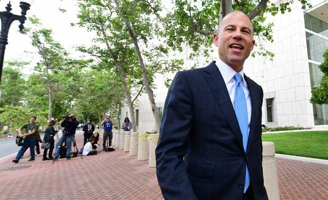 Avenatti and OC Attorney Trade Barbs Over Suit