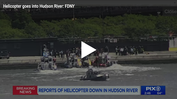 Rachel Lutzker - Helicopter Spirals Out of Control and Crashes into Hudson River in NYC
