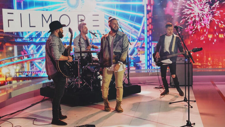 Filmore Performs 'Slower' During National TV Debut