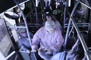 Video Shows Elderly Man Being Shoved From Bus Before His Death