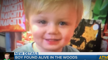 Beth Bradley - Toddler missing from his Kentucky home since Sunday has been found alive.