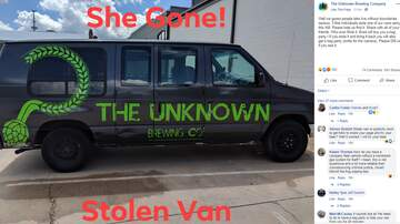 Trevor D in the Morning Show - A Brewery Offers Free Beer as a Reward for Their Stolen Van, And. . .