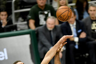 Brook Lopez was HUGE for the Bucks in game 1