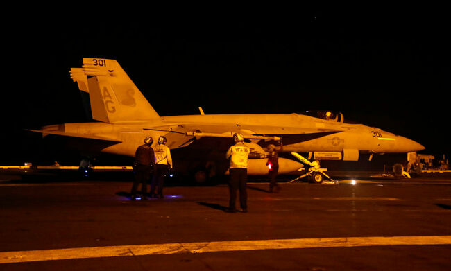 The Abraham Lincoln Carrier Strike Group Deploys To The Red Sea