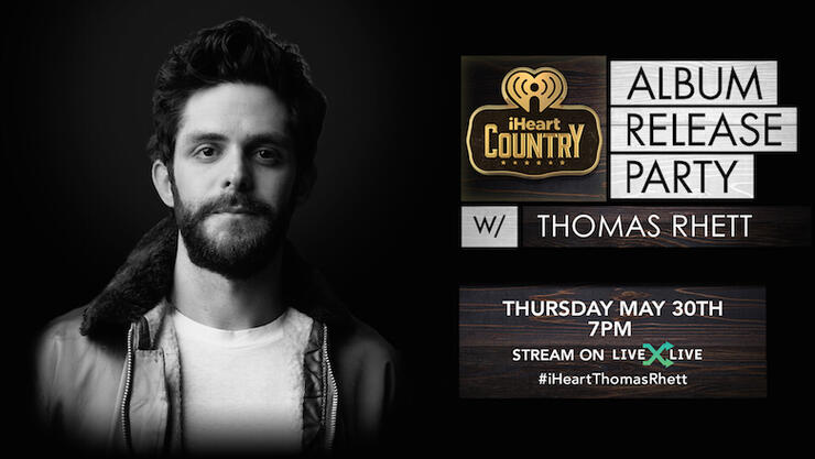 Thomas Rhett iHeartCountry Album Release Party