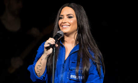 Entertainment News - Demi Lovato Debuts Her Most 'Meaningful Tattoo' Yet