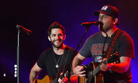 Music News - Thomas Rhett's 'Very Hot Summer' Tour Keeps Family Traditional Alive
