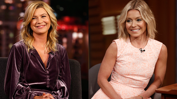 Entertainment News - Ellen Pompeo Defends Kelly Ripa Against 'Bachelor' Boss Amidst Ongoing Feud