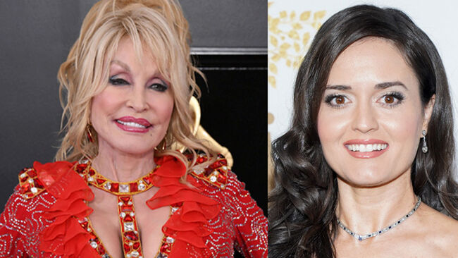 'Wonder Years' Actress Partners With Dolly Parton