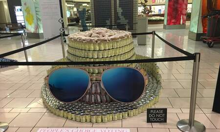 The Mo & Sally Show - CANstruction At The Palm Beach Gardens Mall