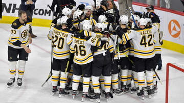 Sports - Bruins Eyeing Boston's Third Championship Of The Year