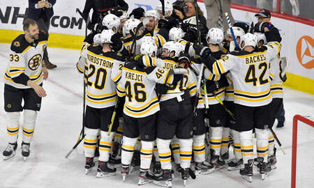 Sports - Bruins Get Ready For Stanley Cup Opener