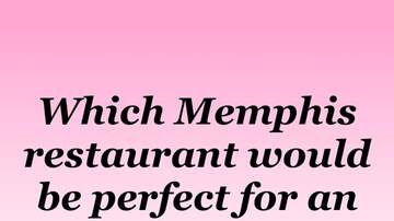 Mike Evans and The Memphis Morning Show - Best First Date Restaurant