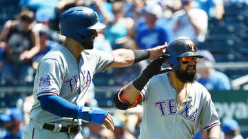 Sports Desk - Rangers Rout Royals