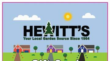 Jaime in the Morning! - Friday's Insanely Easy Answer for A $50 GC to Hewitts Garden Center
