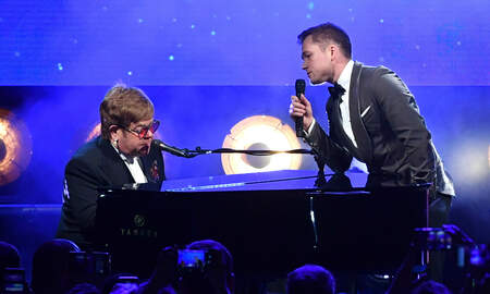 Rock News - Watch Elton John, Taron Egerton Deliver Surprise Rocketman Duet