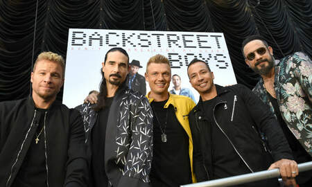 Entertainment News - Backstreet Boys Release 20th Anniversary Edition Of 'I Want It That Way'