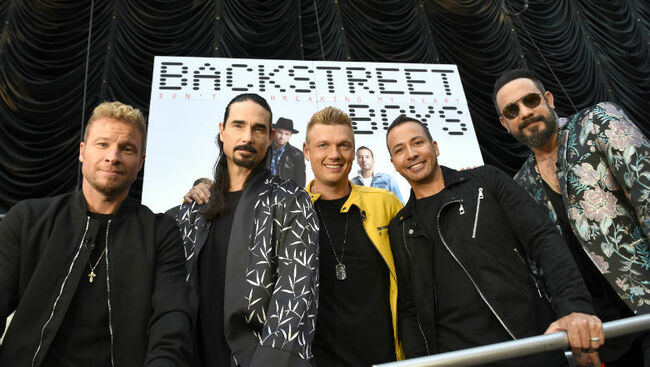 Backstreet Boys Release 20th Anniversary Edition Of 'I Want It That Way'