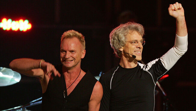 Five-time Grammy winners The Police, reu