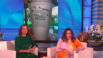 Trending - Maya Rudolph's Infamous 'Bridesmaids' Scene Even Haunts Her At Starbucks