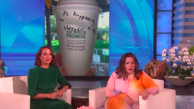 Maya Rudolph's Infamous 'Bridesmaids' Scene Even Haunts Her At Starbucks