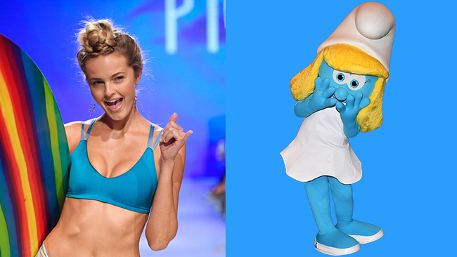 $76 Bikini Leaves Woman Looking Like A Smurf For Absurd Reason