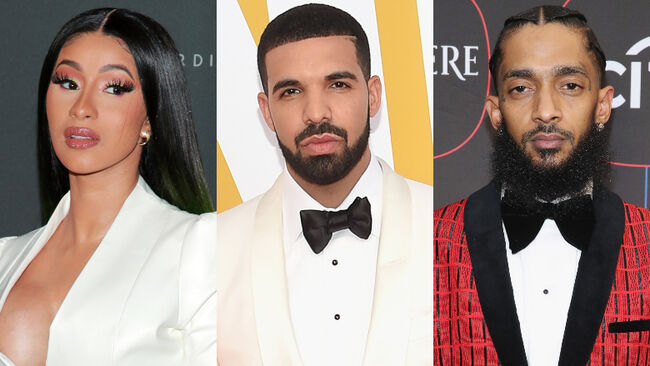 Cardi B, Drake, Nipsey Hussle & More Nominated For 2019 BET Awards