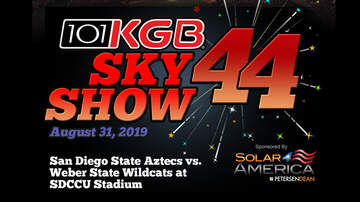 San Diego - KGB Sky Show 2019 - The Greatest Fireworks & Multimedia Show In San Diego