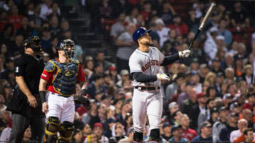 None - Springer's Homer Lifts Astros Over Red Sox