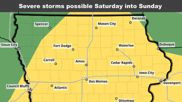 WOC Local News - Severe storms, Flash Flooding risk Nebraska and Iowa STORM & RAIN MAPS