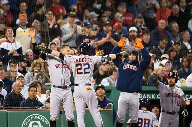 Houston Astros v Boston Red Sox