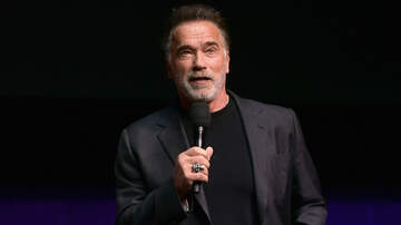 iHeartRadio Music News - Arnold Schwarzenegger Dropkicked During Event — See The Video