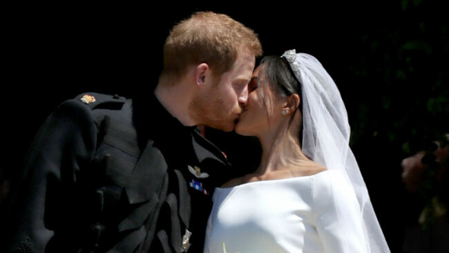 Meghan Markle & Prince Harry Share Never-Before-Seen Photos From Wedding
