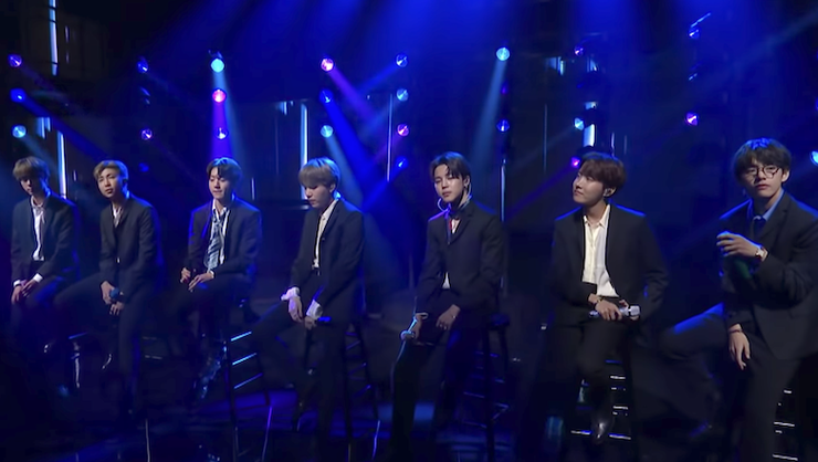 BTS 'Make It Right' On 'Colbert': Watch | iHeartRadio