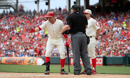 Lance McAlister - Reds fall to 0-8 on Sundays, settle for split on homestand