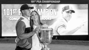 The KFAN Bits Page - Brooks Koepka denies GF of kiss TWICE and she got TICKED!