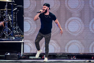 Dylan Scott Performing at WMZQ Fest
