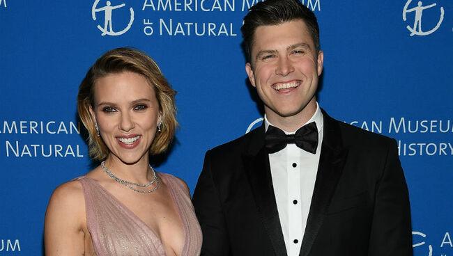 Scarlett Johansson & Colin Jost Announce Engagement