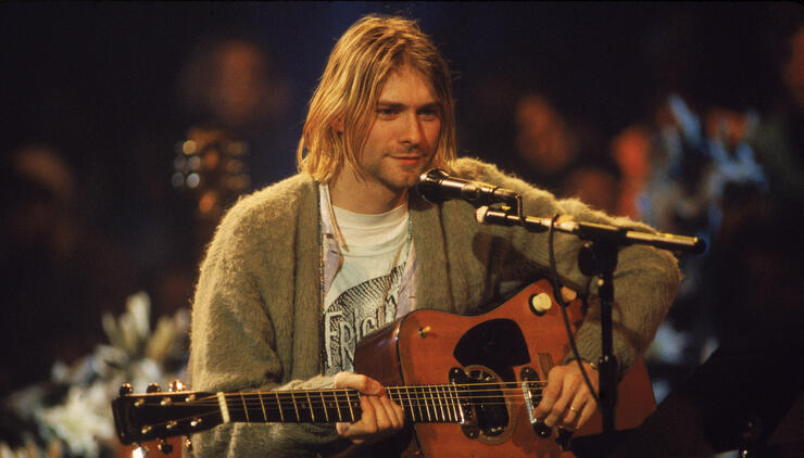 Set List Handwritten By Kurt Cobain On A Plate Sells For Over $22,000 | iHeartRadio