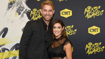 iHeartCountry - Brett Young Shows Off Wife's Growing Baby Bump With Family Photo