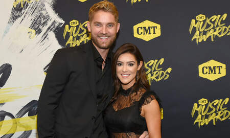 Music News - Brett Young Shows Off Wife's Growing Baby Bump With Family Photo