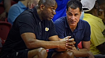 FOX Sports Radio - Rob Pelinka Responds to Magic Johnson's Disparaging Comments