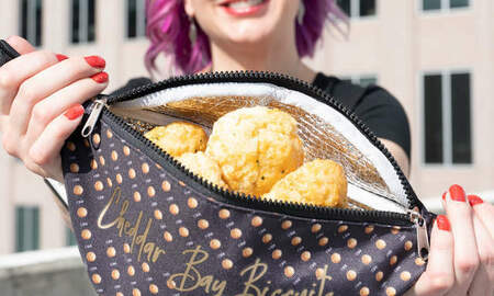Tim Ben & Brooke - Red Lobster Made A Fanny Pack That Will Keep Your Biscuits Warm