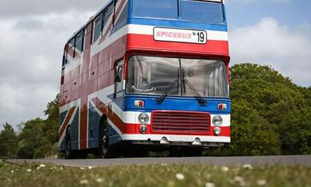 Suzette - You Can Now Spend The Night In The Bus From The Movie 'Spice World'